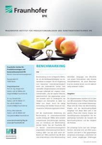Flyer Prozessbenchmarking
